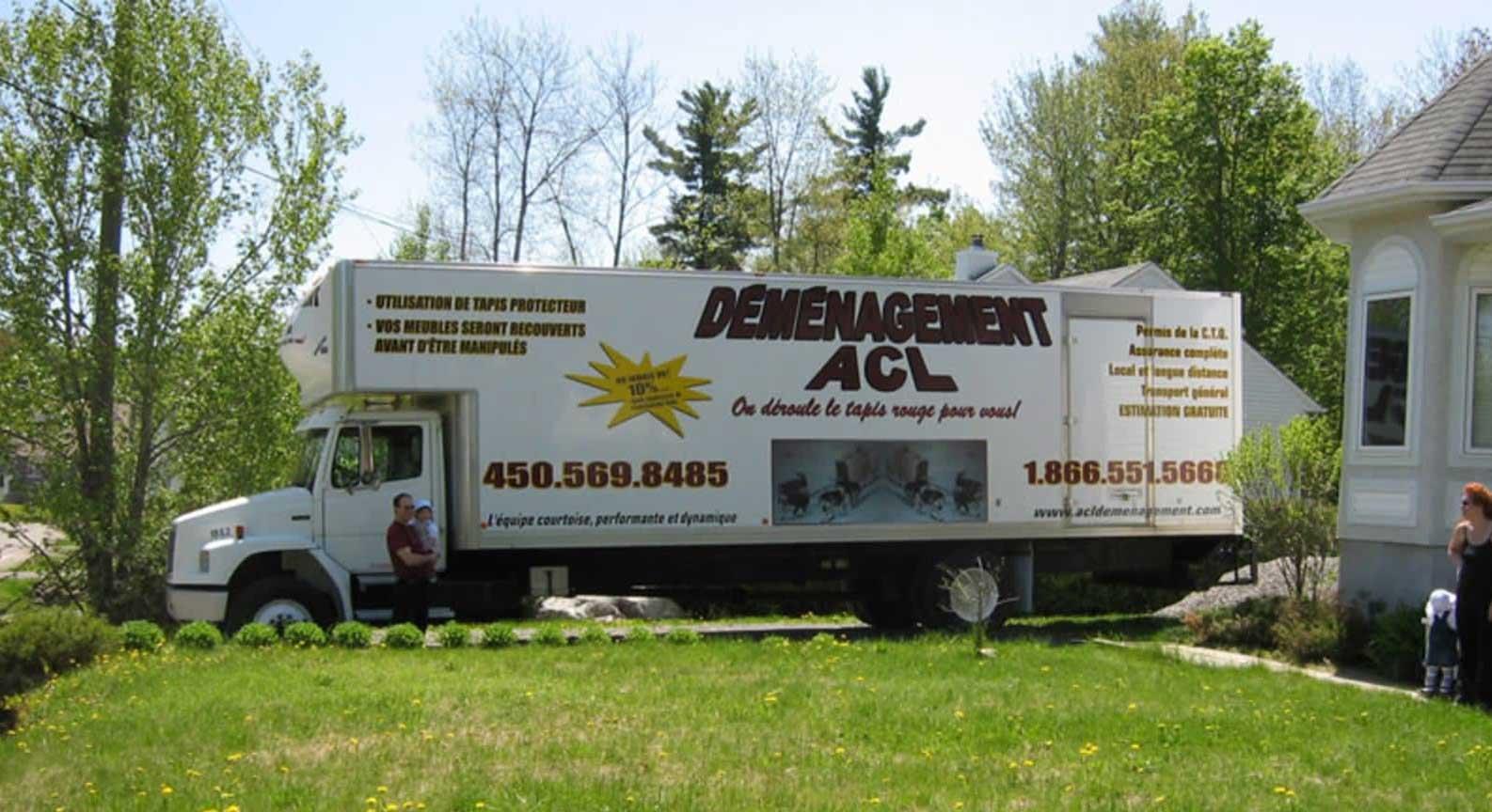camion Déménagement ACL - Famille