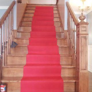Tapis rouge galerie